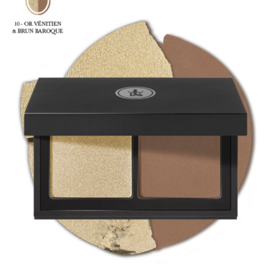Skin @ home - make up - Sothys duo oogschaduwpalet