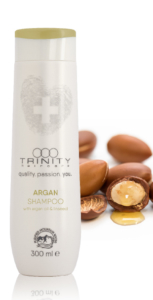 Skin @ home - haircare therapie - Trinity haircare argan shampoo