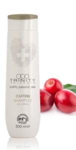 Skin @ home - haircare therapie - Trinity haircare caffein shampoo
